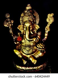 Ganesh the deity of success. Brahmanism is the oldest religion in the world.