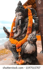 Ganesha sculpture god of hinduism in Bali Indonesia