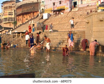 Ganges River—Varanasi, India