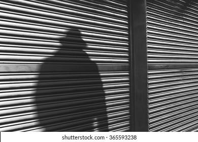 gangster man shadow