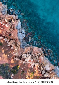 Gantheaume Point cliff at sunrise in Broome