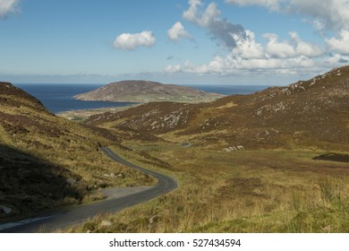 Gap of Mamore, Inishown Peninsula, Ireland.