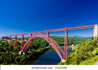 Garabit Viaduct, Cantal Departement, Auvergne, France