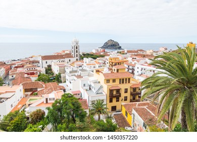 garachico fishing town in tenerife, Spain