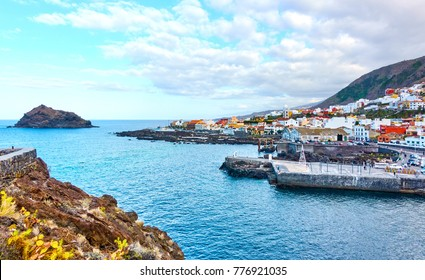Garachico - small old town on the seashore, Tenerife island, The Canaries