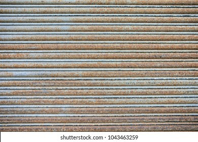 Garage dirty and oxide metal texture