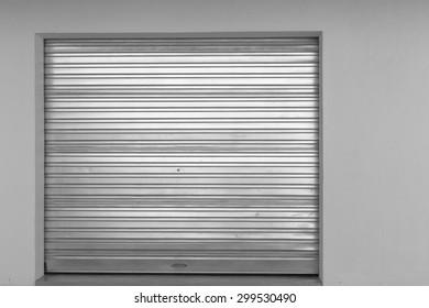 Nice Garage Door New New Sheet Metal Garage Door In Building.