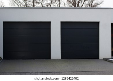 Garage door for protection and security