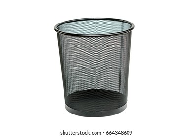 garbage bin isolated on white background