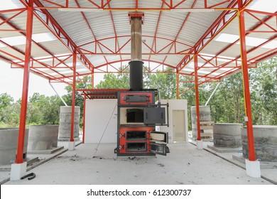 garbage burning stove machine