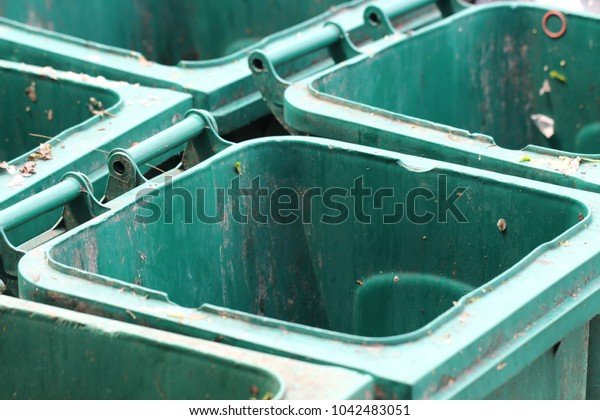 Garbage container background