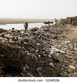 Garbage Dump in Africa