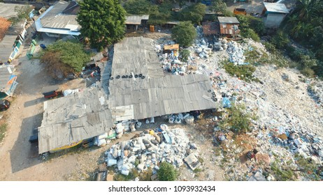 Garbage Dump and Houses