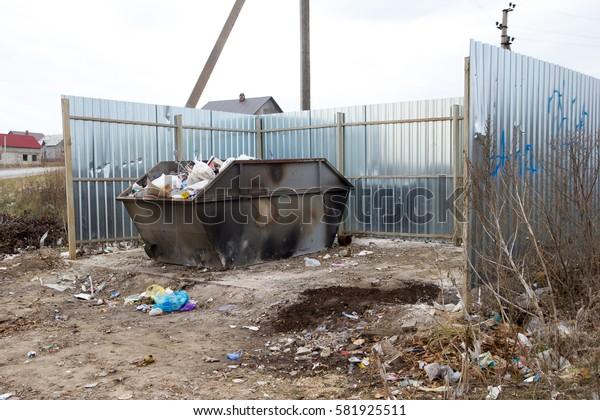 Garbage tanks