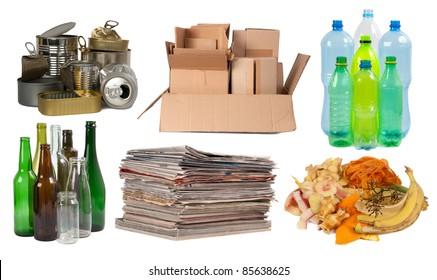 Ordures recyclables