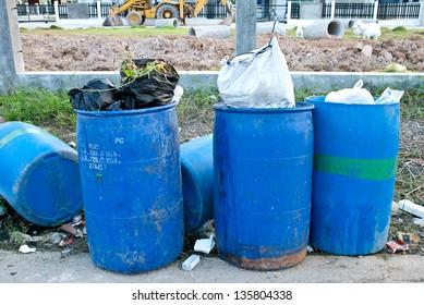 Garbage waste wait for destroy, pollution