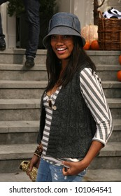 Garcelle Beauvais at the Pottery Barn Kids Halloween Carnival Benfiting Operation Smile, Private Location, Los Angeles, CA. 10-23-10