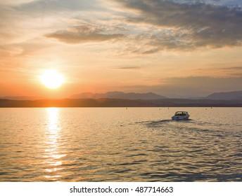 Garda Lake. Italy. Sirmione