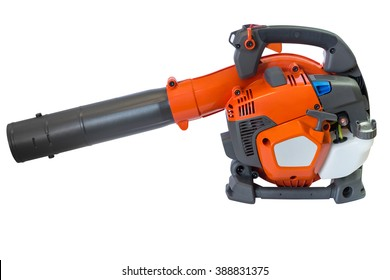 Garden blower isolated on white background