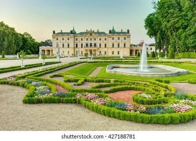 Garden in the Branicki Palace, 13 / july / 2015, Bialystok, Poland