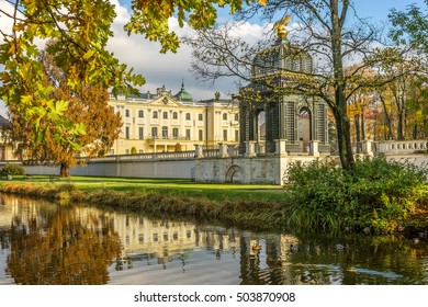 Garden in the Branicki Palace Bialystok Poland