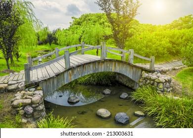 Garden Bridge Silence Scene.