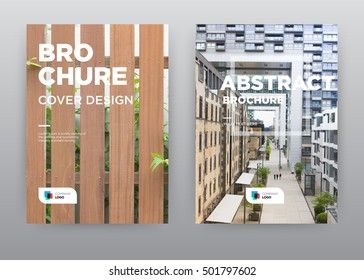 Garden Building architecture business offices plaza annual report journal magazine banner poster brochure flyer design template, Leaflet cover presentation abstract flat background, layout in A4 size