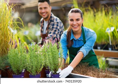 Garden Center Employees