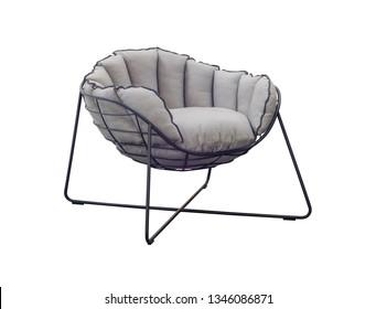 garden chair on a white background