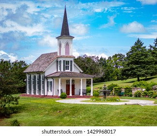 Garden chapel at big cedar lodge in Branson Missouri