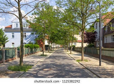 Garden City Marga. The oldest German garden city was built as a residential area for the workers of Ilse Bergbau AG early 20th century in the late Art Nouveau. It is located in Senftenberg.