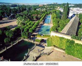 Garden in Cordoba Spain