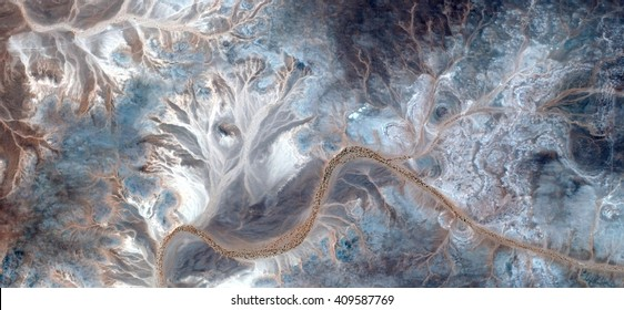 the garden of delights,allegory, tribute to Pollock, abstract photography of the deserts of Africa from the air,aerial view, abstract expressionism, contemporary photographic art, abstract naturalism,
