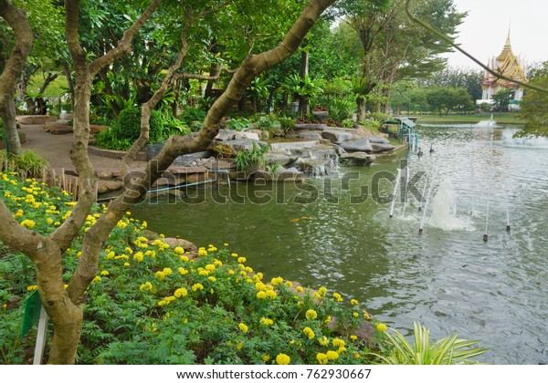 Garden Design Thai Temple Thailand Stock Photo Edit Now 762930667