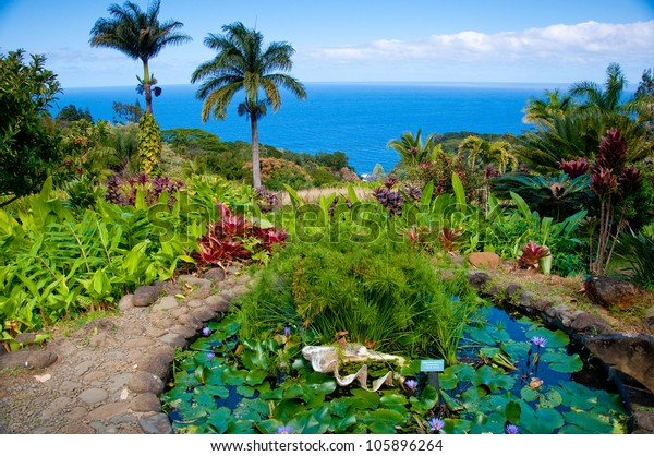 The Garden of Eden in Maui, Hawaii