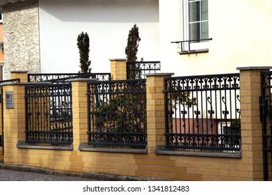 Garden fence made of Iron