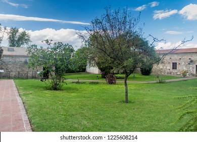 Garden of a former Jesuit mission in Alta Gracia, Argentina