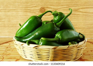 garden fresh isolated jalapeno pepper in wooden background