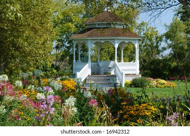 Garden Gazebo on Mackinac Island