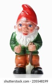 Garden Gnome holding spade
