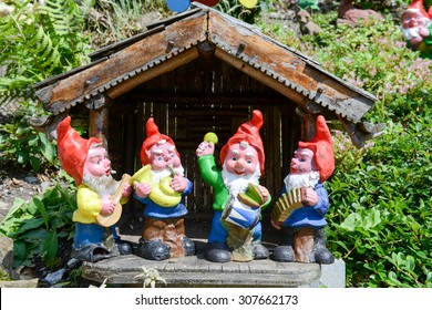 Garden Gnome Images, Stock Photos & Vectors | Shutterstock