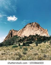 Garden of the Gods in Colorado Springs, Colorado.