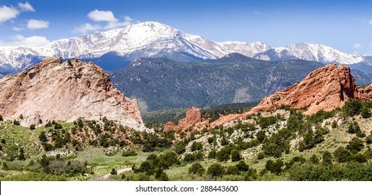 Garden of the Gods Park in Colorado Springs Colorado