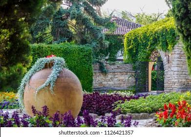 Mediterranean Gardens Stock Photos Images Photography