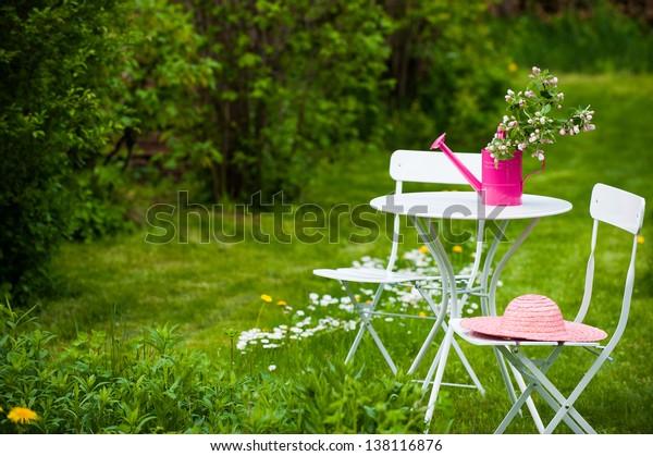 Jardin idyllique