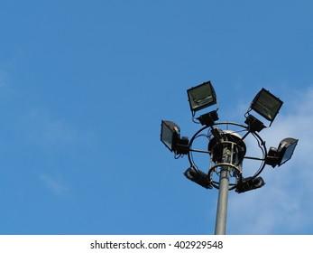 Garden Lamp on The Sky