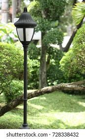A garden light.