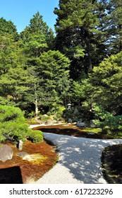 The garden of Manshu-in, Kyoto, Japan : August 14, 2011