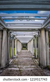 Garden Pergola - Swannanoa Palace - Afton, VA