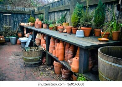 Garden Potting Bench, in Aarhus - The Old City